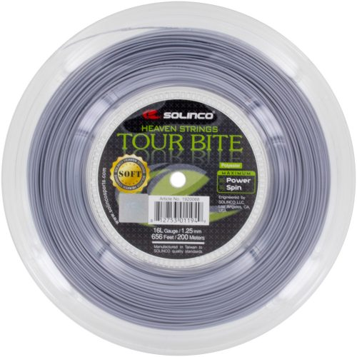 Reel - Solinco Tour Bite Soft 16L 1.25 660: Solinco Tennis String Reels