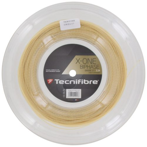 Reel - Tecnifibre X-One Biphase 17 1.24: Tecnifibre Tennis String Reels