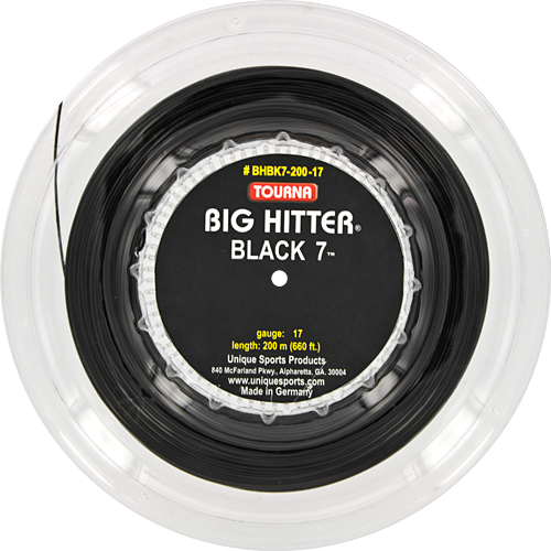 Reel - Tourna Big Hitter Black 7 17: Tourna Tennis String Reels