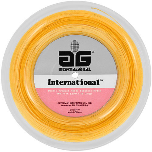 Reel - Tournament Nylon 15L 660: AG International Tennis String Reels