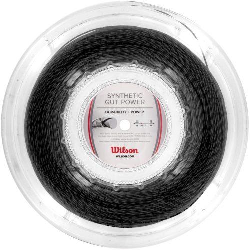 Reel - Wilson Synthetic Gut Power 16 660': Wilson Tennis String Reels