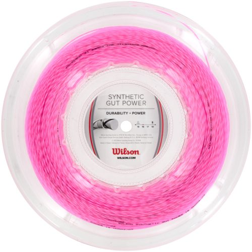 Reel - Wilson Synthetic Gut Power 16 660': Wilson Tennis String Reels