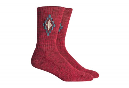 Richer Poorer Baldwin Hiking Socks - red multi, one size