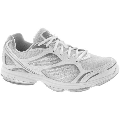 Ryka Devotion Plus: ryka Women's Walking Shoes White/Chrome Silver/Frosted Almond