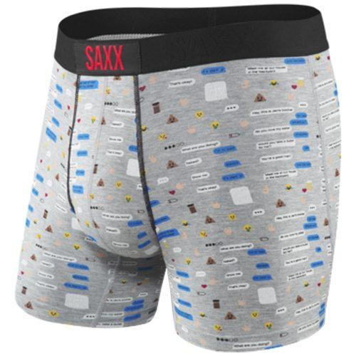 SAXX Vibe Boxer Brief Spring 2018: Saxx Underwear Men's Athletic Apparel