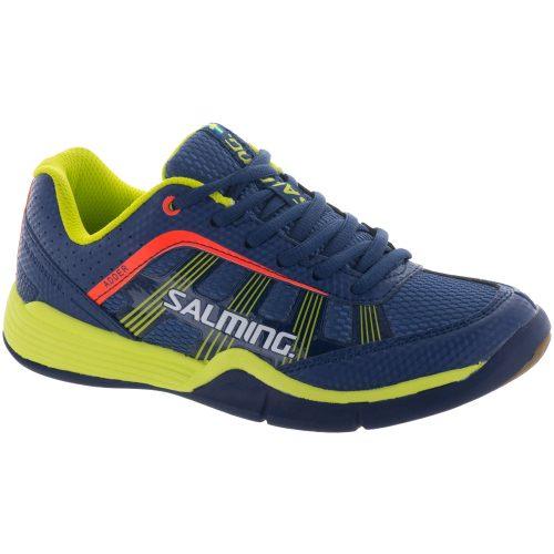 Salming Adder Junior Blue/Yellow: Salming Junior Squash Shoes