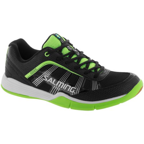 Salming Adder: Salming Men's Indoor, Squash, Racquetball Shoes Black/Green