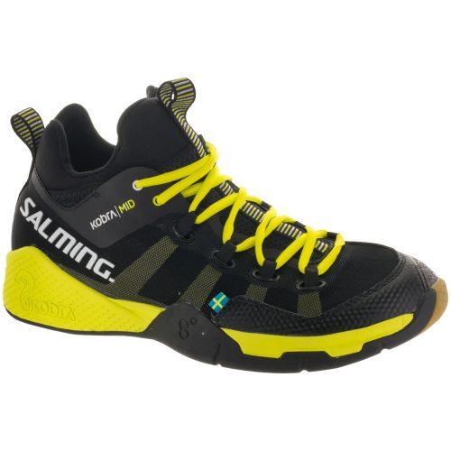 Salming Kobra Mid: Salming Men's Indoor, Squash, Racquetball Shoes Black/Yellow