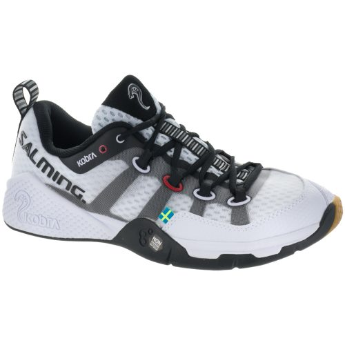 Salming Kobra: Salming Women's Indoor, Squash, Racquetball Shoes Limited Edition White