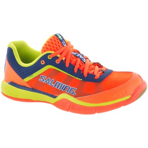 Salming Viper 3 Junior Shocking Orange: Salming Junior Squash Shoes