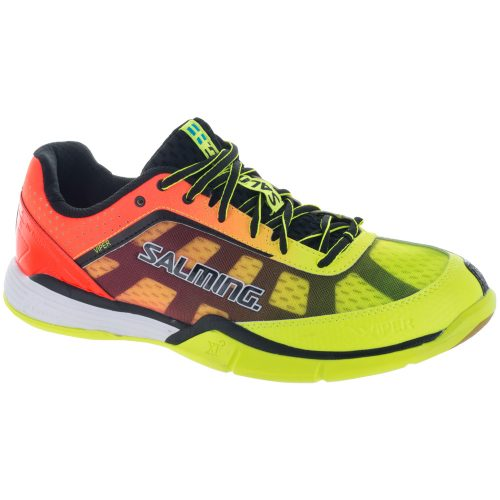 Salming Viper 4: Salming Men's Indoor, Squash, Racquetball Shoes Yellow/Orange