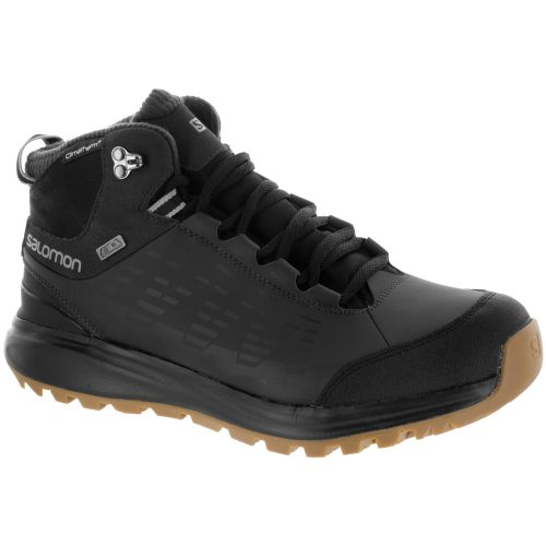 Salomon Kaipo CS WP 2: Salomon Men's Hiking Shoes Black/Asphalt/Titanium