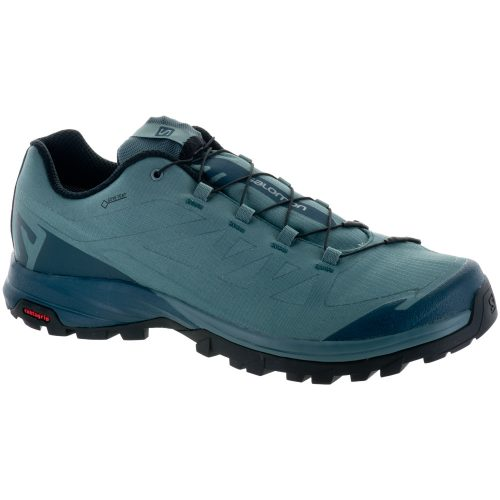 Salomon Outpath GTX: Salomon Men's Hiking Shoes North Atlantic/Reflecting Pond/Black