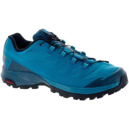 Salomon Outpath GTX: Salomon Women's Hiking Shoes Tahitian Tide/Reflecting Pond/Black