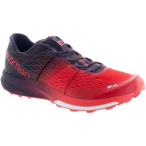 Salomon S-Lab Sense Ultra 2: Salomon Men's Running Shoes Racing Red/Maverick/White