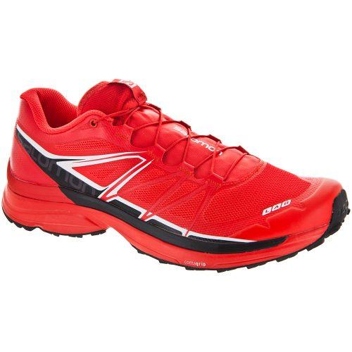 Salomon S-Lab Wings: Salomon Men's Running Shoes Racing Red/Black/White