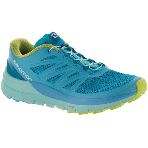 Salomon Sense Pro Max: Salomon Women's Running Shoes Blue Curacao/Beach Glass