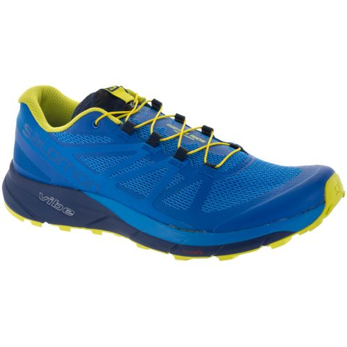 Salomon Sense Ride: Salomon Men's Running Shoes Snorkel Blue