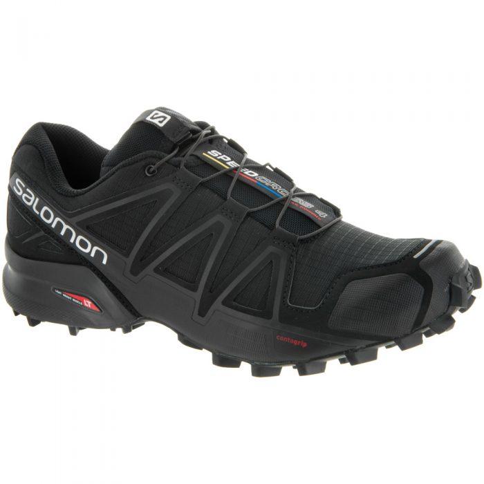 Salomon Speedcross 4: Salomon Men's Running Shoes Black