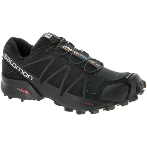 Salomon Speedcross 4: Salomon Women's Running Shoes Black