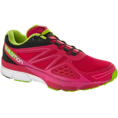 Salomon X-Scream 3D: Salomon Women's Running Shoes Lotus Pink/Black/Granny Green