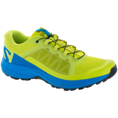 Salomon XA Elevate: Salomon Men's Running Shoes Acid Lime/Hawaiian Surf/Black