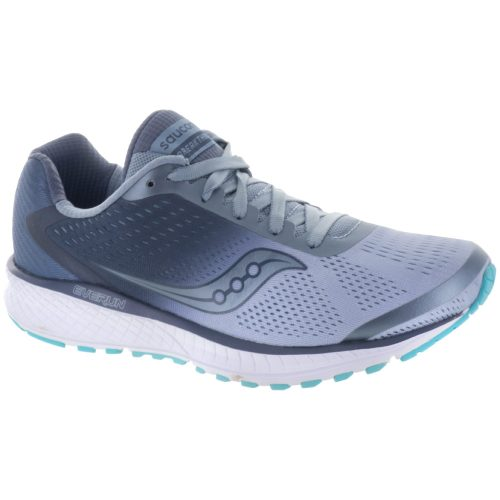 Saucony Breakthru 4: Saucony Women's Running Shoes Fog/Grey/Blue