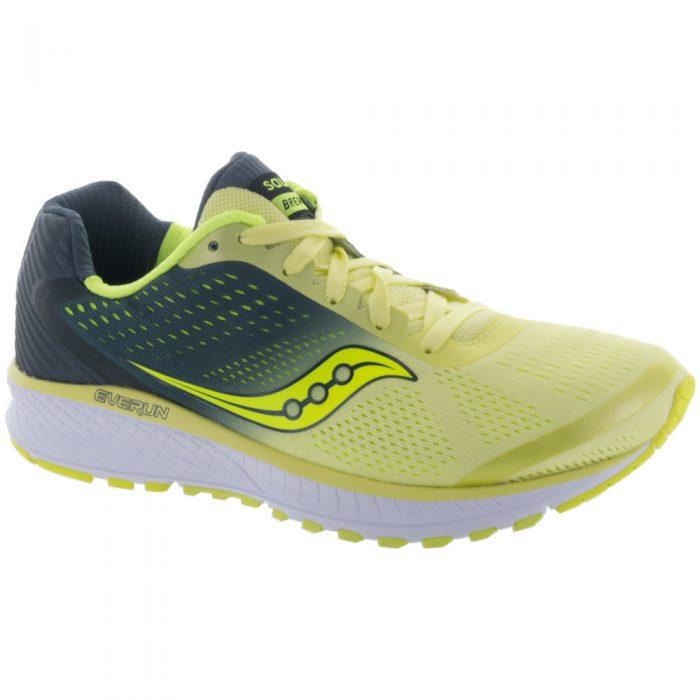 Saucony Breakthru 4: Saucony Women's Running Shoes Lime/Grey