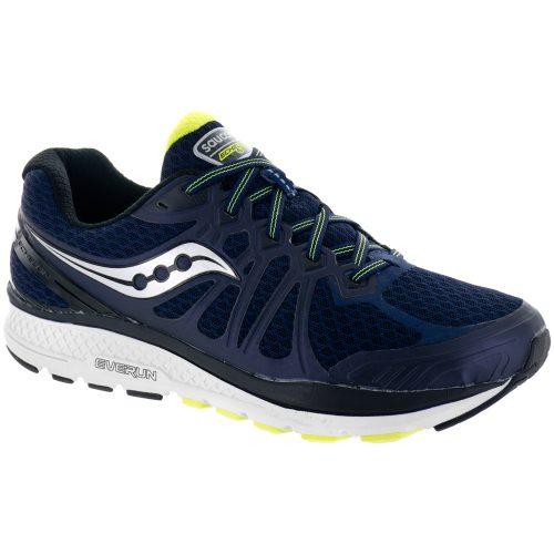 Saucony Echelon 6: Saucony Men's Running Shoes Navy/Citron
