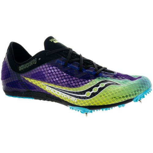 Saucony Endorphin: Saucony Men's Running Shoes Purple/Citron/Black