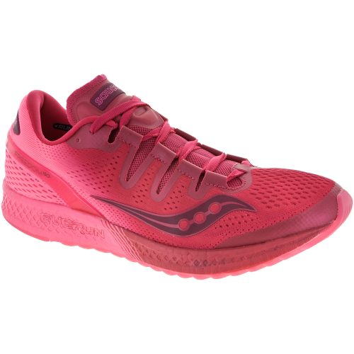 Saucony Freedom ISO: Saucony Women's Running Shoes Berry/Pink