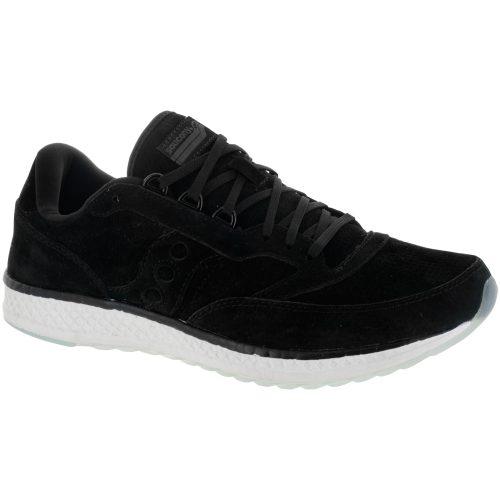Saucony Freedom Runner Suede: Saucony Men's Running Shoes Black