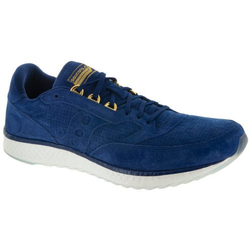 Saucony Freedom Runner Suede: Saucony Men's Running Shoes Blue