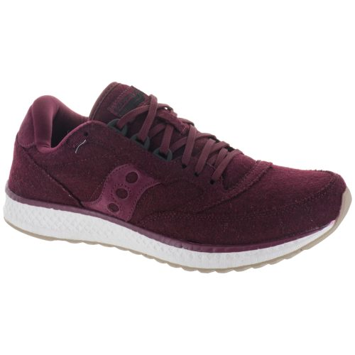 Saucony Freedom Runner Wool: Saucony Women's Running Shoes Burgundy