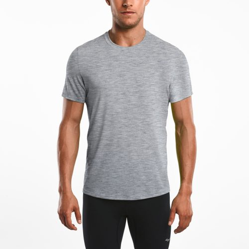 Saucony Freedom Short Sleeve Tee: Saucony Men's Running Apparel Spring 2018