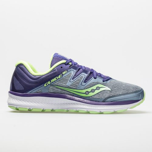 Saucony Guide ISO: Saucony Women's Running Shoes Fog/Purple/Mint