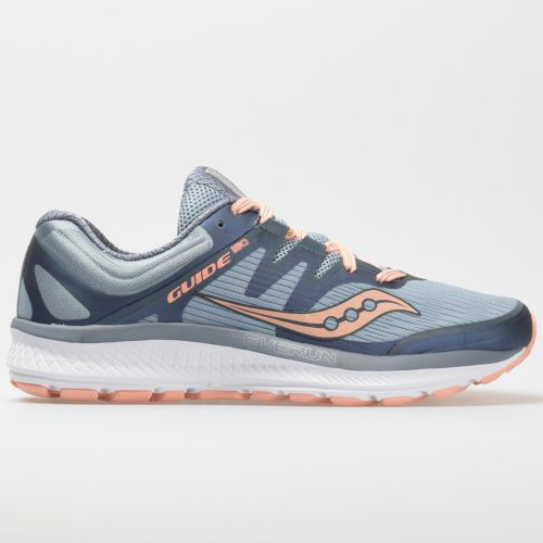 Saucony Guide ISO: Saucony Women's Running Shoes Slate/Peach
