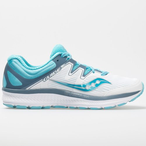 Saucony Guide ISO: Saucony Women's Running Shoes White/Blue