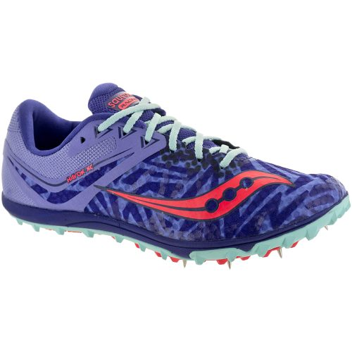 Saucony Havok XC: Saucony Women's Running Shoes Lavender/Vizi Red