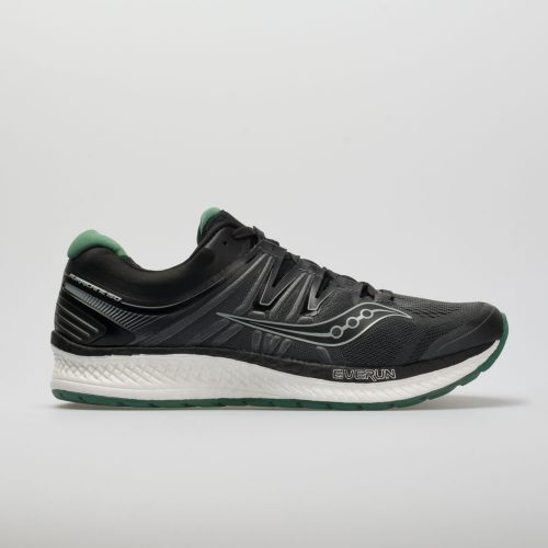 Saucony Hurricane ISO 4: Saucony Men's Running Shoes Black/Grey/Green