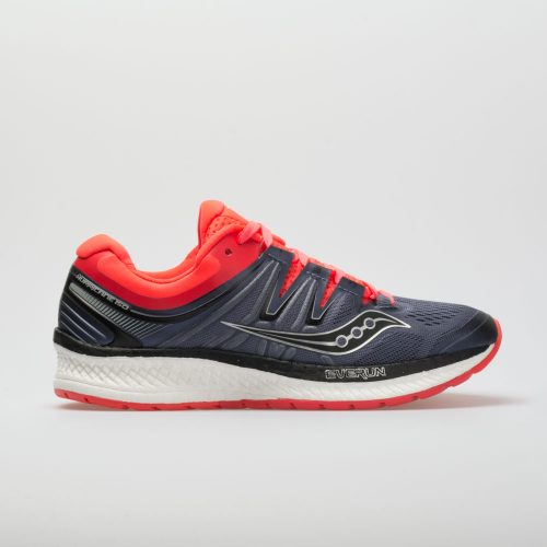 Saucony Hurricane ISO 4: Saucony Women's Running Shoes Grey/Black/ViZi Red