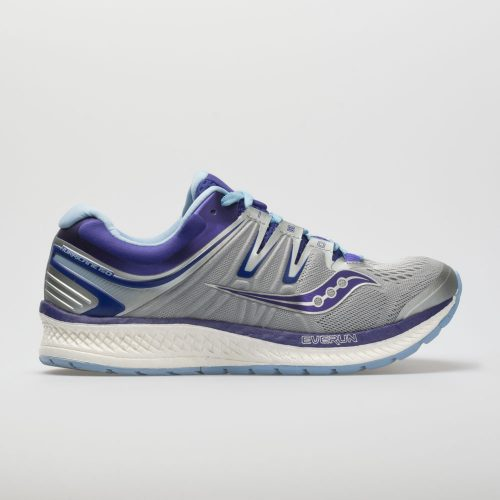 Saucony Hurricane ISO 4: Saucony Women's Running Shoes Grey/Blue/Purple