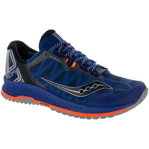 Saucony KOA TR: Saucony Men's Running Shoes Blue/Orange