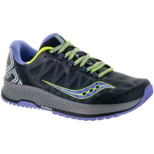 Saucony KOA TR: Saucony Women's Running Shoes Grey/Blue/Citron