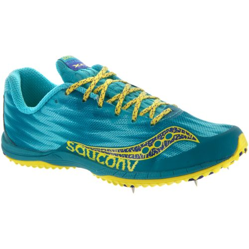 Saucony Kilkenny XC5: Saucony Women's Running Shoes Teal/Yellow