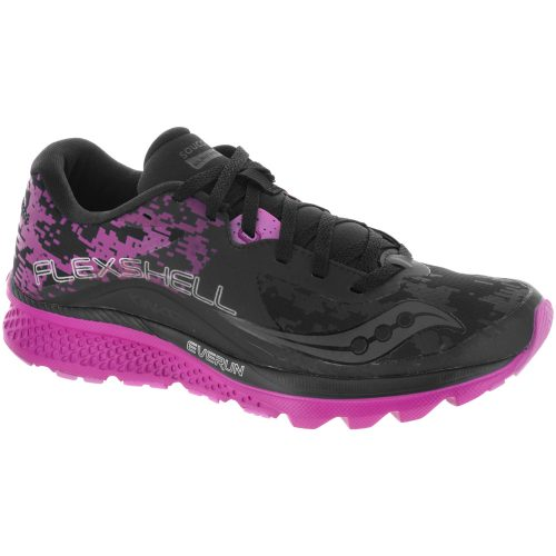 Saucony Kinvara 8 Runshield: Saucony Women's Running Shoes Black/Pink