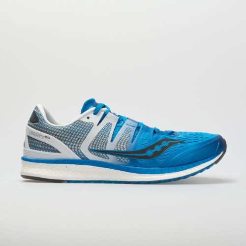 Saucony Liberty ISO: Saucony Men's Running Shoes Blue/White/Black