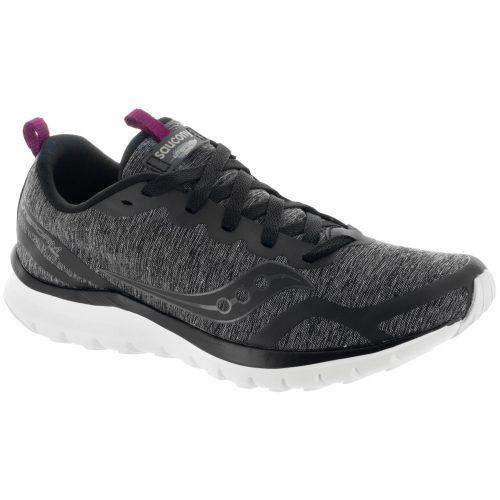 Saucony Liteform Feel: Saucony Women's Running Shoes Black