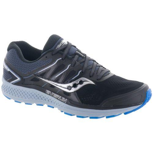 Saucony Omni 16: Saucony Men's Running Shoes Black/Grey/Blue