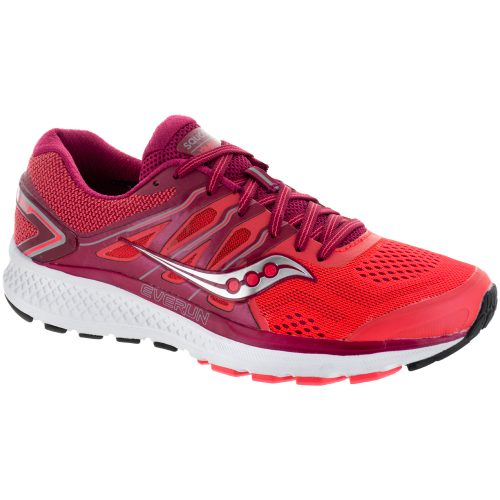 Saucony Omni 16: Saucony Women's Running Shoes Berry/Coral